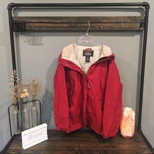 L.L. Bean women's rain jacket